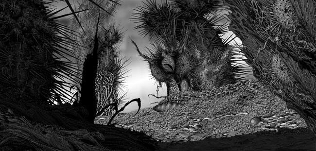 Cactus Scene 3