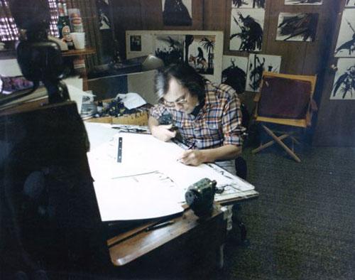 Ian Miller - Studio Melrose Avenue LA