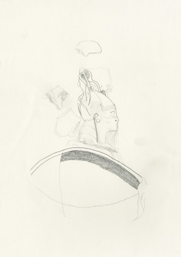 Horatii Curatii No.2 - Pencil on paper, 21cm x 29cm - £350.00