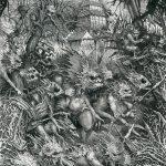 Dark water - Pen and ink illustration board, 29cm x 23cm (2017) - £650.00