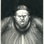 Fat conFat Controller - Ink on paper, 14cm x 20cm (1985) - £100.00
