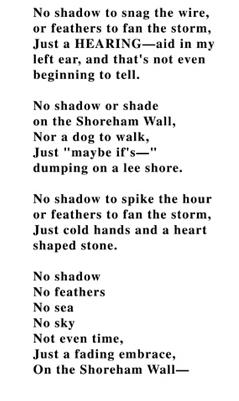 shoreham wall