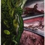 Green men and windmills