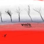 Red stitch