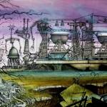 Wizards  factory landscape