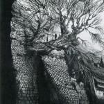Gormenghast tree.