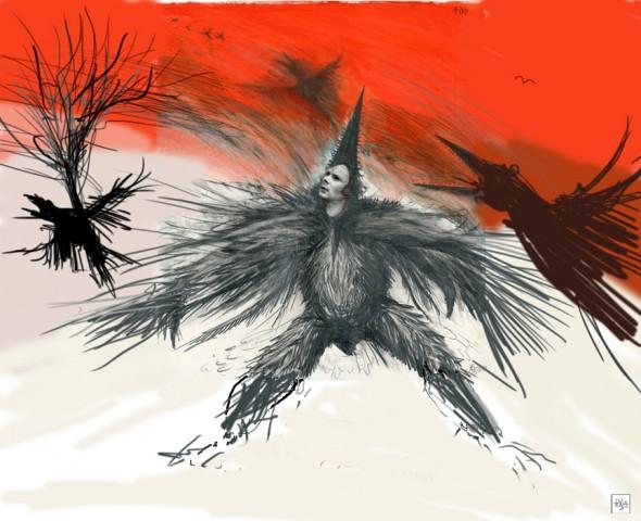 Crow call3 w