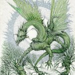 Green Dragon and Ents