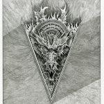 Dragmon Prep No.1 - Ink on paper, 25cm x 32cm (2016) - £150.00