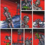 The City Red (Graphic Novel) - 28.5cm x 36cm (1992) - £850.00