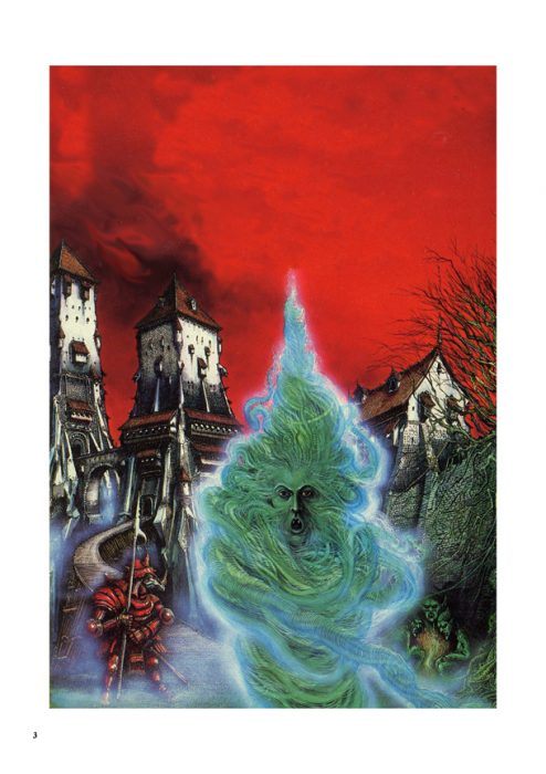 Green Spirit / Fighting Fantasy Cover Art - Digital print on PVC, 59.4cm x 84.1cm (1980) - £60.00 Signed and numbered edition of 150