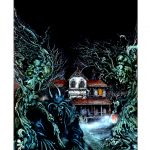 Hell House Banner / Fighting Fantasy Cover Art - Digital print on PVC, 59.4cm x 84.1cm (1980) - £60.00 Signed and numbered edition of 150